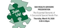 Puzzle Pieces and Oak-Wealth-Advisors-Presentation-March-19-2020