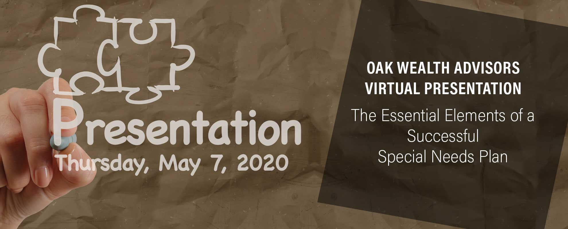 May-7-2020-virtual-presentation | The Essential Elements of a Successful Special Needs Plan