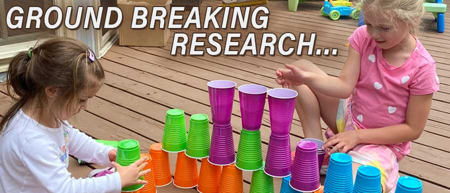 Children enjoying play time - ground breaking research…